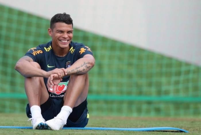 Thiago Silva quer disputar a quarta Copa da carreira