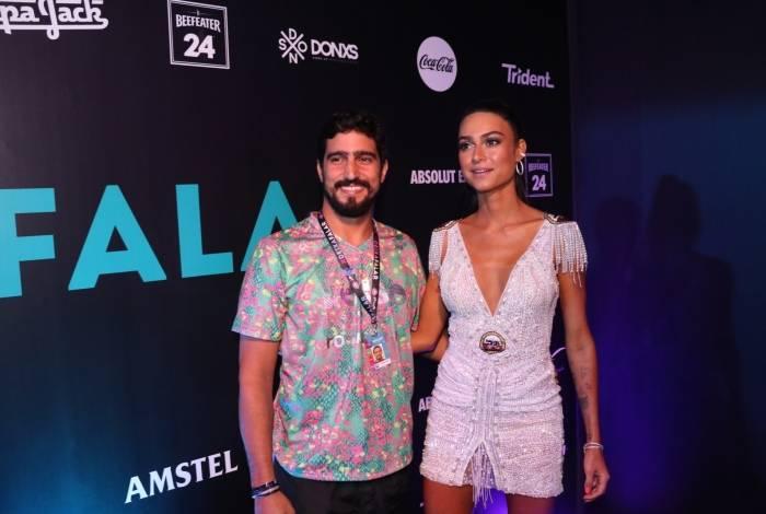 Renato Góes e Thaila Ayala