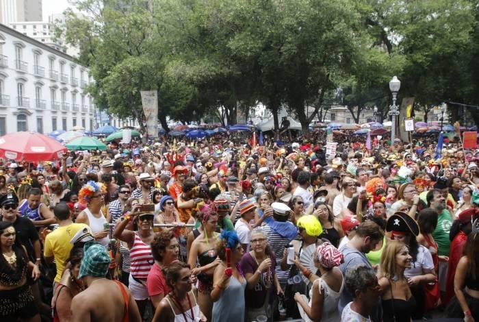 O fluxo de turistas na cidade neste carnaval também cresceu: chegou a 1,62 milhão de visitantes