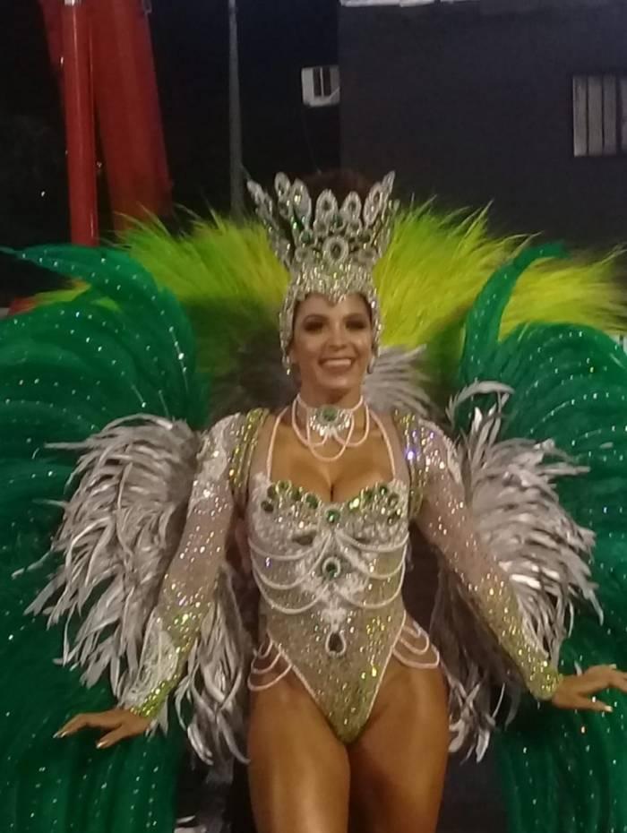Monique Rizzetto, Rainha de Bateria do Império Serrano