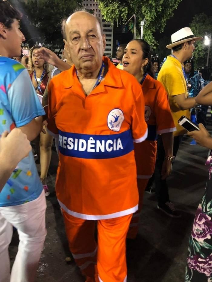 Simão Sessim, presidente de honra da Beija-Flor