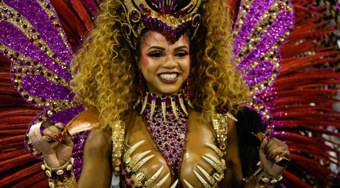 Bianca Monteiro, rainha de bateria da Portela