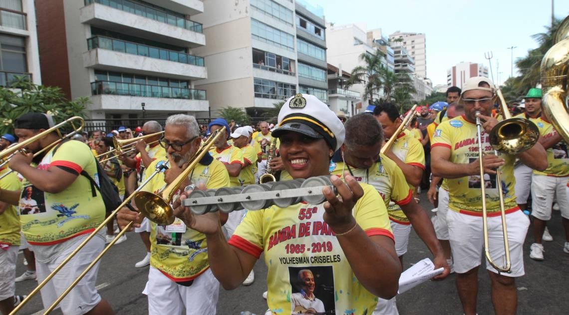 Banda de Ipanema fez seu terceiro desfile neste Carnaval