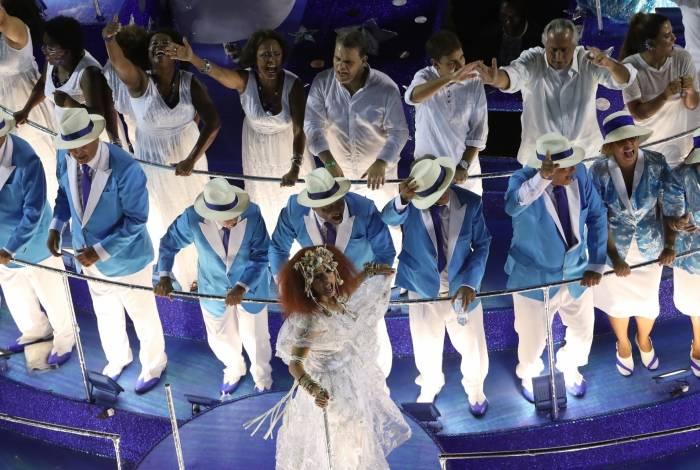 Carnaval 2019 - Desfile da Escola de Samba do Grupo Especial, G.R.E.S. Portela, no Sambódromo da Marquês de Sapucaí, no centro da cidade do Rio de Janeiro nesta segunda-feira (04). Foto: Alexandre Brum/Agência O Dia