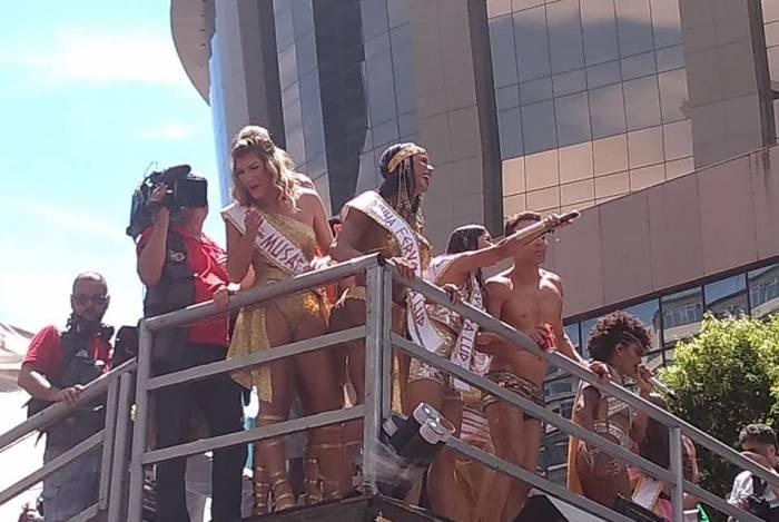 Fervo da Lud levou multidão ao Centro do Rio, mas acabou em confusão