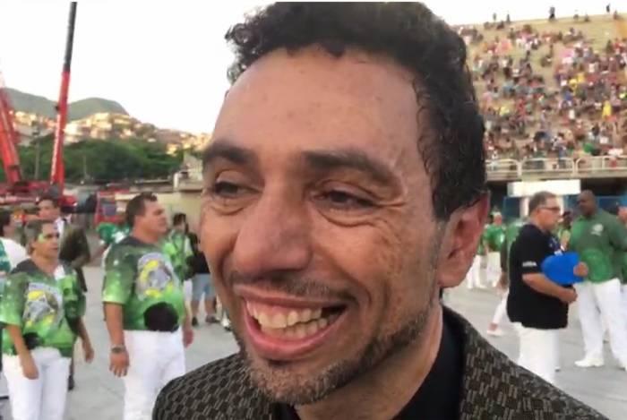 Jorge Teixeira, coreógrafo da Mocidade