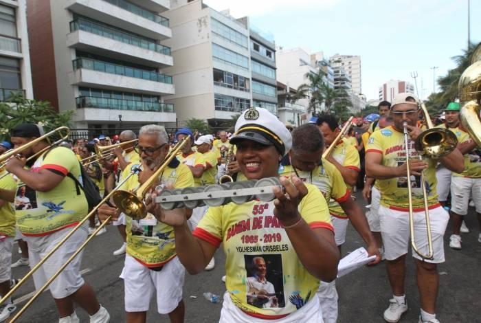 Decisão da prefeitura afeta também o horário do desfile da Banda de Ipanema, tradição no bairro