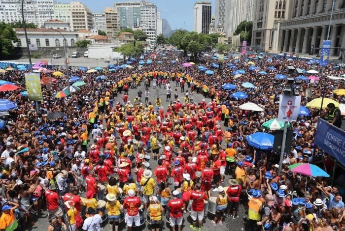 05.03.2017 - Carnaval de rua - Monobloco - Centro- Foto Fernando Maia | Riotur