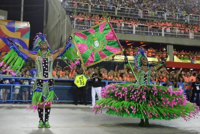 Desfile da Mangueira, campeã do Grupo Especial
