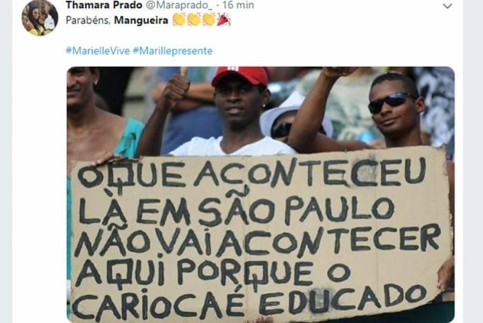 Internautas comparam resultados de São Paulo e do Rio