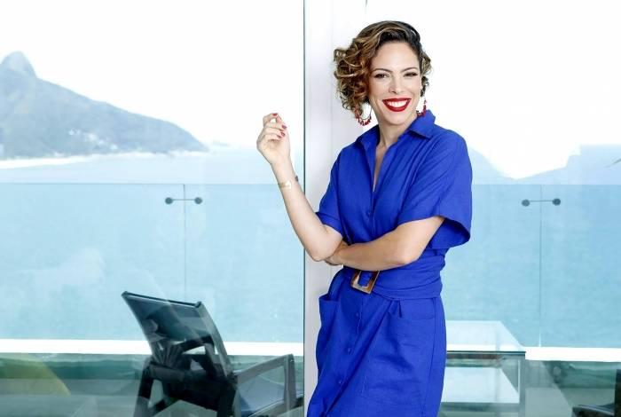 A atriz e apresentadora Renata Pitanga