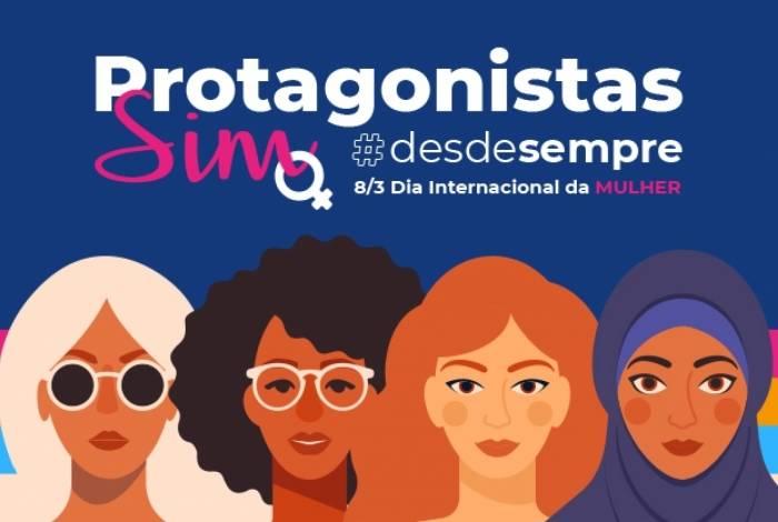Banner no site do Hurb faz homenagem no Dia das Mulheres