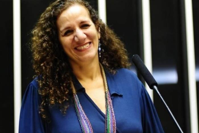 Deputada federal Jandira Feghali (PCdoB-RJ)