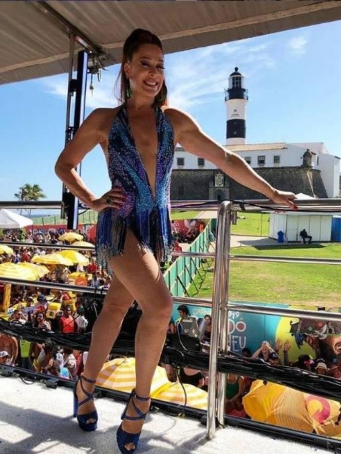 Claudia Raia no Carnaval de Salvador