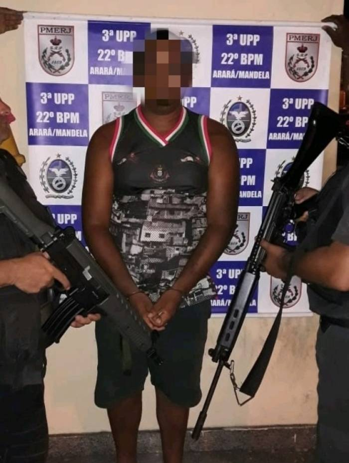 Suspeito de ser o segundo chefe na hierarquia do tráfico no Mandela é preso em Benfica