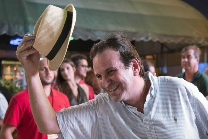 Eduardo Paes também curtiu o Carnaval na cidade