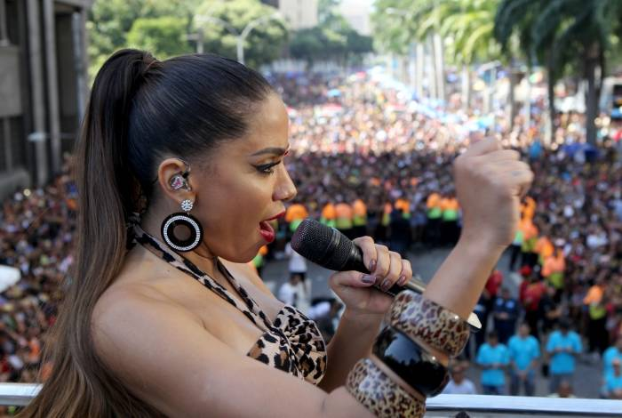 Rio de Janeiro - 09/03/2019 - Sabado pos-carnaval tem Bloco das Poderosas arrasta multidao no centro do Rio. Foto: Luciano Belford/Agência O Dia