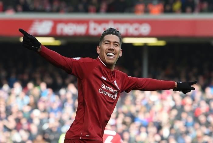 Firmino marcou na vitória do Liverpool