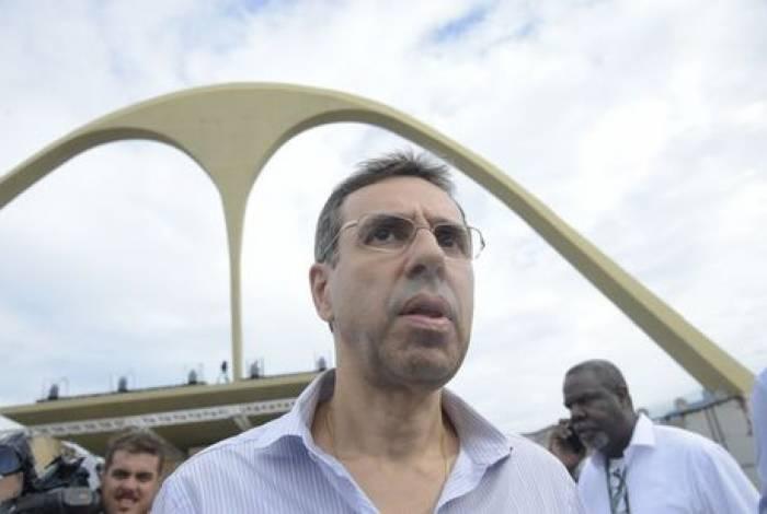Jorge Castanheira, presidente da Liga Independente das Escolas de Samba do Rio de Janeiro
