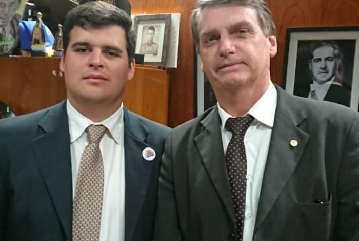 Bruno Engler (PSL) é um dos principais apoiadores de Bolsonaro em Minas Gerais