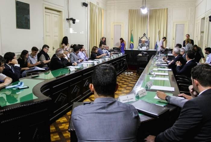Audiência pública promovida pela CPI para apurar causas da crise do Rio durou mais de quatro horas