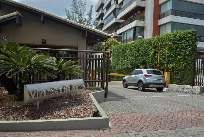 Condomínio Vivendas da Barra, onde família Bolsonaro tem casa