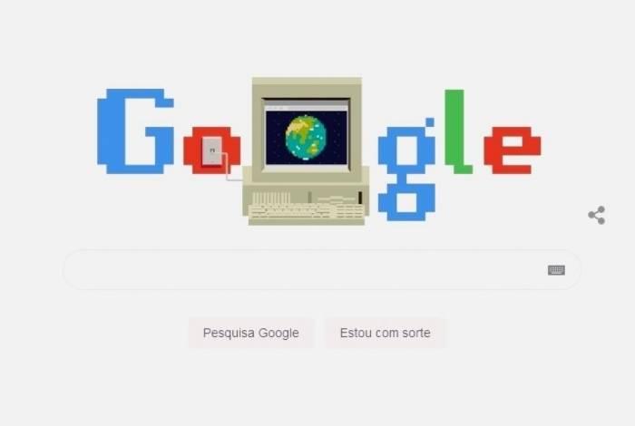 Doodle do Google comemora os 30 anos da Web