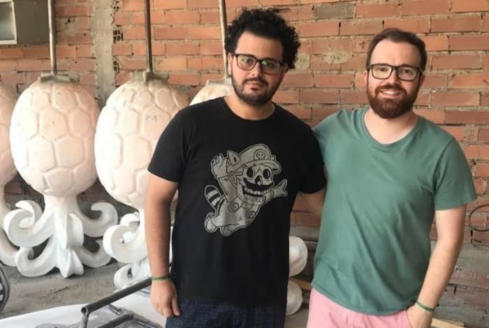Gabriel Haddad e Leonardo Bora
