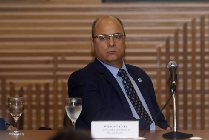 Governador Wilson Witzel trabalhará em 2020 com um déficit orçamentário de pouco mais de R$ 10 bi