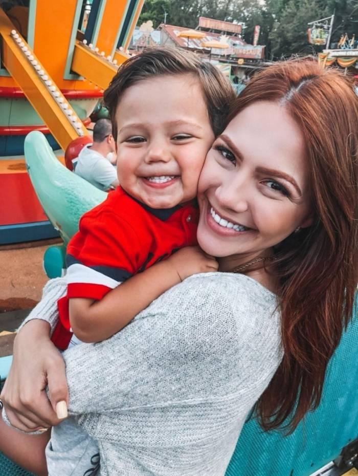 Filho de Sarah Poncio atinge 1 milhão de seguidores no Instagram