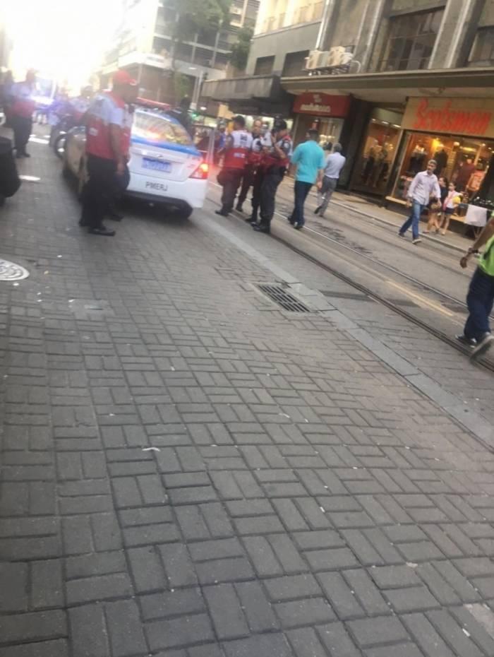 Tentativa de assalto aconteceu na Avenida Sete de Setembro