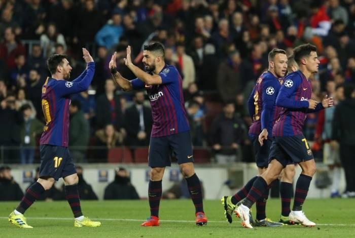 Barcelona venceu o Lyon
