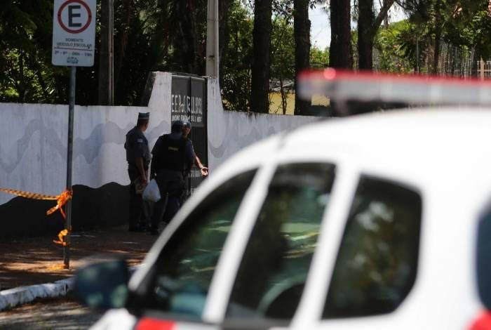 Atentado Em Sao Paulo Gallery: Ex-alunos Abrem Fogo Em Escola, Matam Oito E Ferem Nove Em