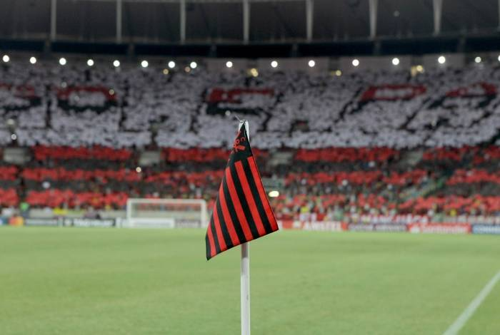 Festa da torcida do Flamengo na vitória contra a LDU