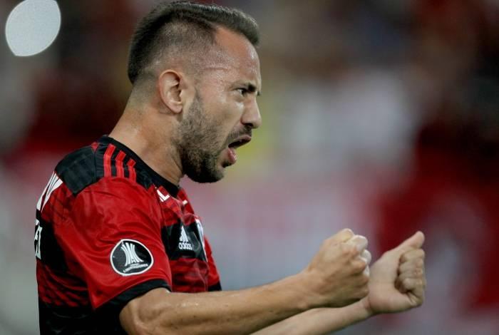 O meia Everton Ribeiro, destaque do atual elenco do Flamengo