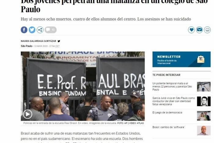 Imprensa internacional lembra que Bolsonaro facilitou a posse de armas no país