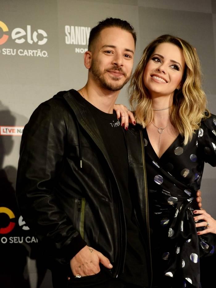 Sandy e Junior Lima anunciam nova turnê em coletiva de imprensa em São Paulo