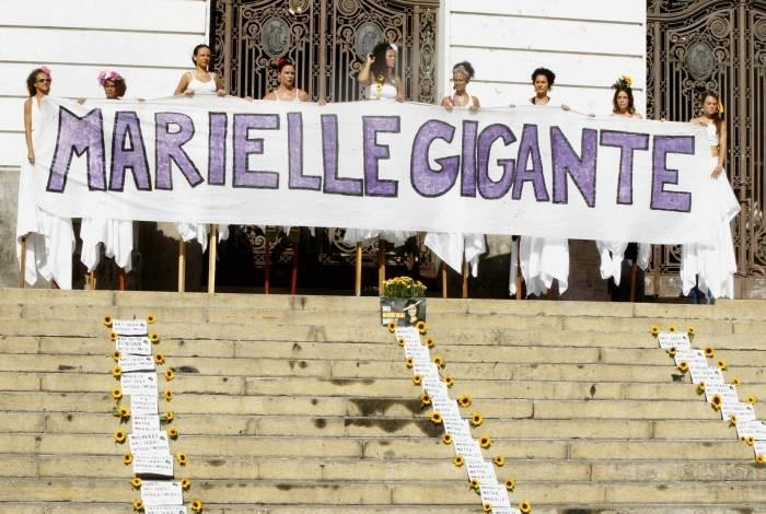 Câmara de Vereadores tem ato para Marielle
