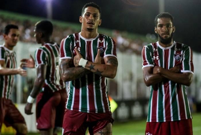 Fluminense passou fácil pelo Boavista