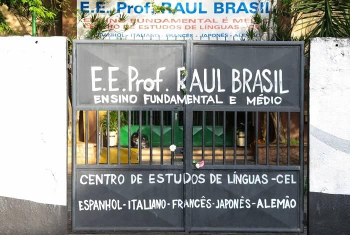 Escola Professor Raul Brasil, em Suzano, local do massacre