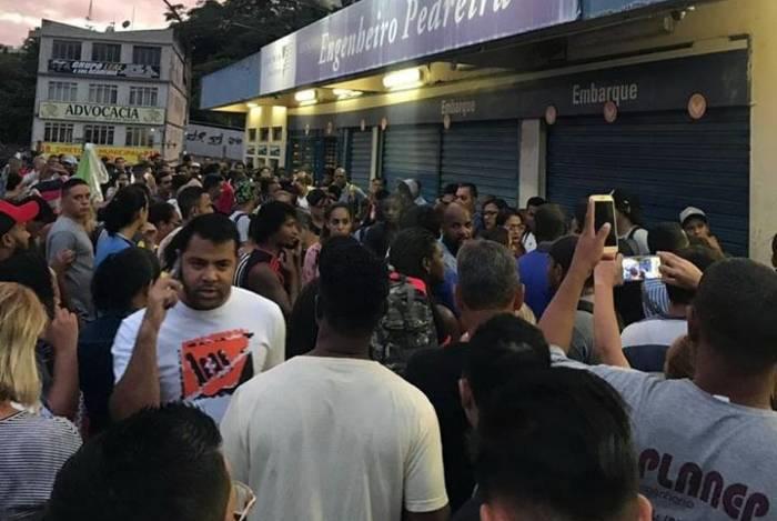 Problema afeta ramais de Japeri e Santa Cruz
