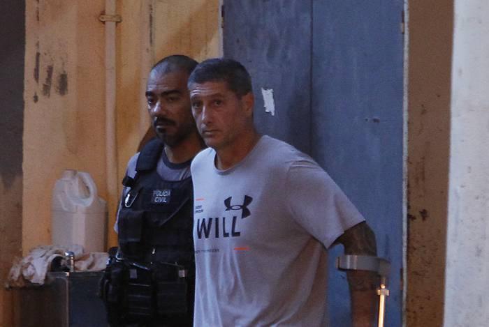 Ronnie Lessa foi preso no dia 12 março