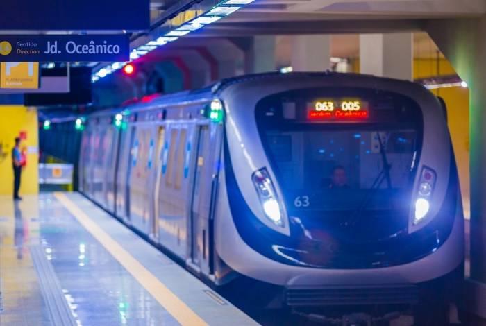 Linha 4 reduziu o tempo de viagem até a Zona Sul; já do Jardim Oceânico ao Centro, a média é de 30 minutos