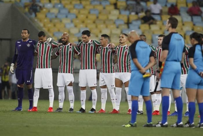 Time do Fluminense tem jogado com arquibancadas vazias