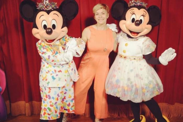 Regiane Alves na Disney