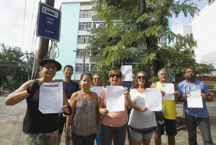 Moradores de Vila Isabel fazem abaixo-assinado pela volta do 464
