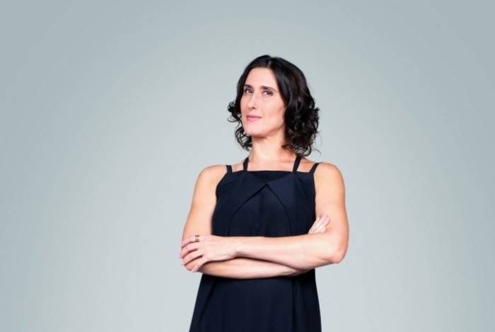 Paola Carosella, chef e jurada do Masterchef, na Band