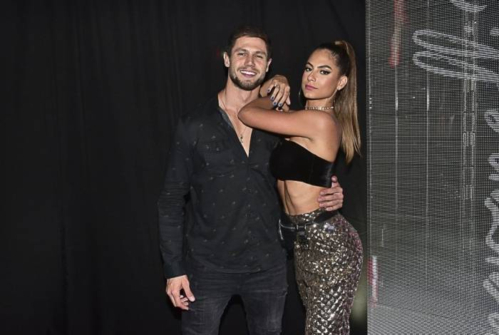 Ex-BBB Jonas e Mari Gonzalez