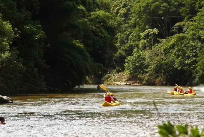 Em Macaé, praticantes de esportes náuticos estarão no Rio Macaé
