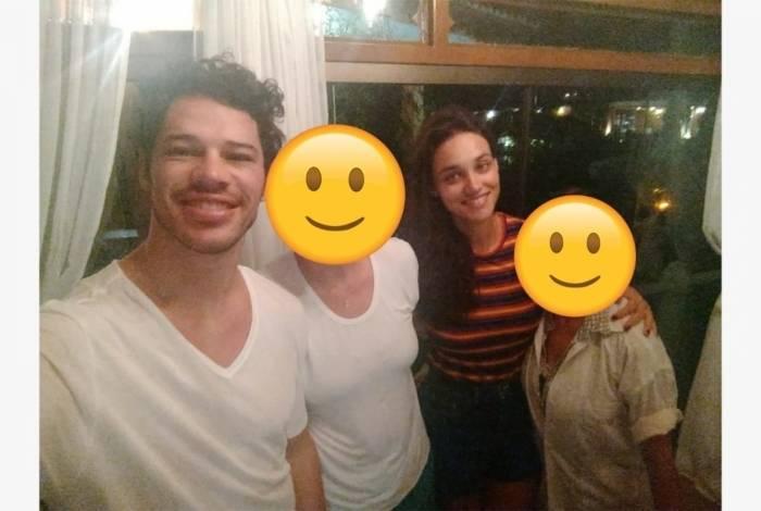 José Loreto e Débora Nascimento passam fim de semana juntos